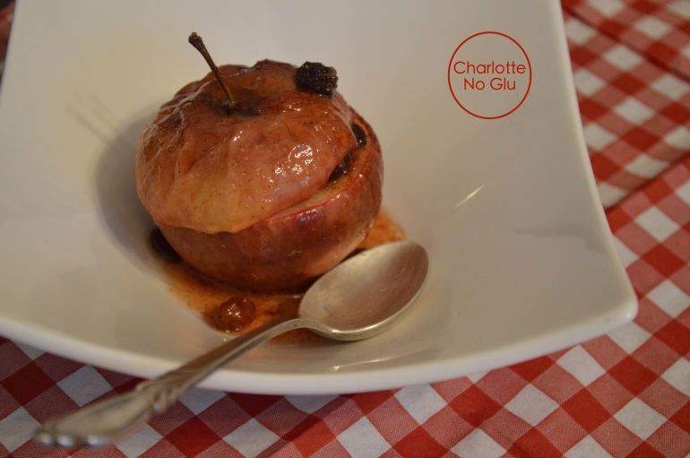 Baked apples - Pommes au four