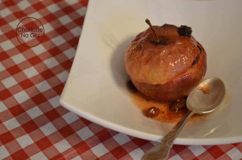 Pommes au four - Baked apples