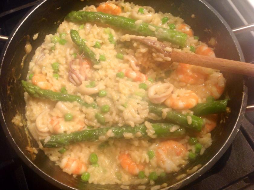 Seafood Safran risotto