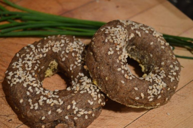 Buckwheat bagels -  Bagels sarrasin