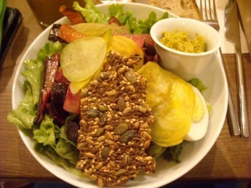 Grande Salade Café Pinson