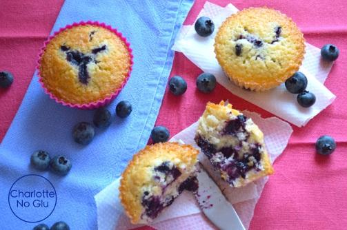 Muffins myrtilles - Blueberry muffins
