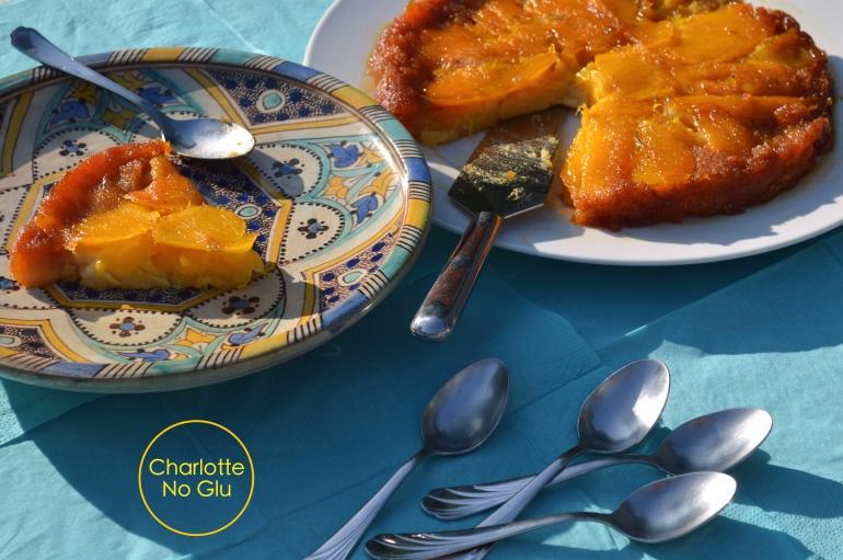 Gâteau renversé mangue coco sans gluten et sans lait - Mango and coconut cake (gluten and dairy free)