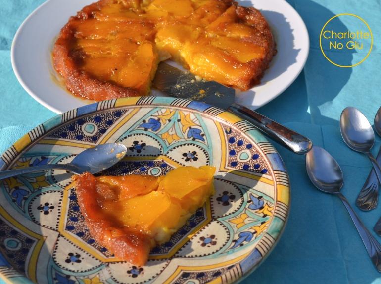 Gluten and dairy free mango and coconut cake - Gâteau renversé mangue coco (sans gluten et sans lait)