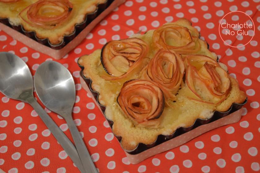 gluten and dairy free apple tarts