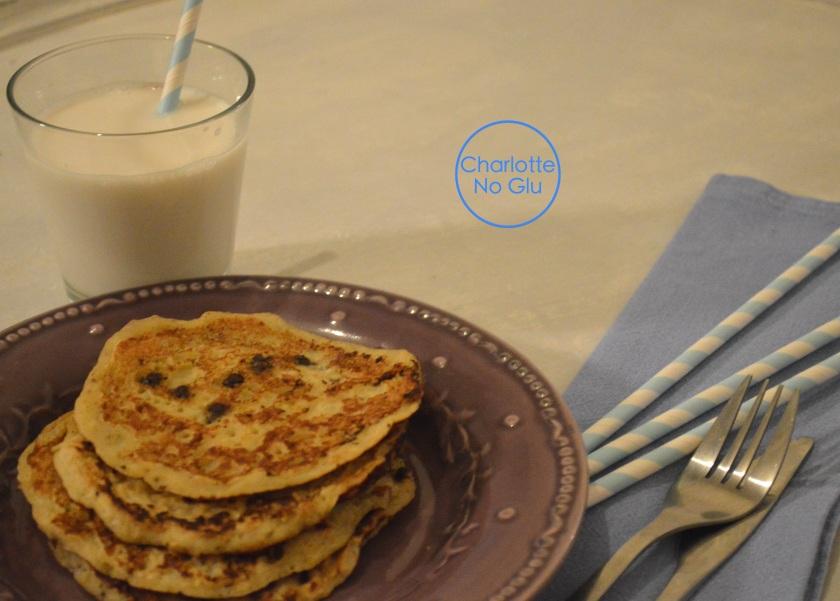 banana gluten and dairy free pancakes - pancakes banane sans gluten et sans lait