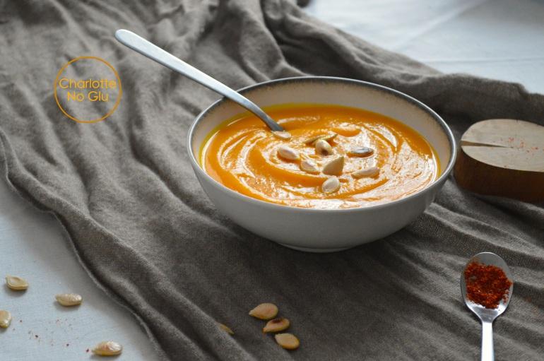 Velouté de potiron épicé - Spicy pumpkin soup