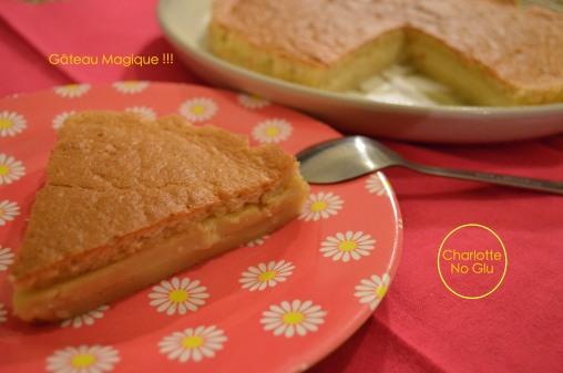 Gâteau magique - Magic cake (gluten & dairy free)