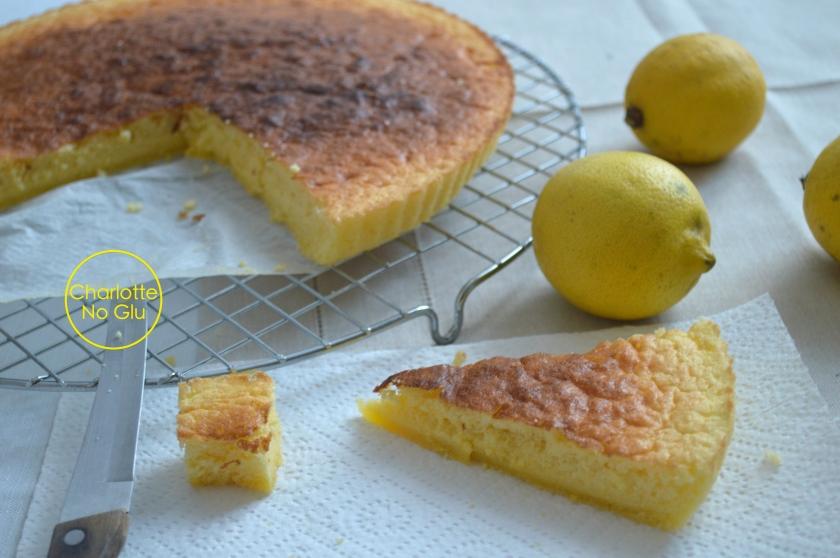 Lemon sponge Charlotte No Glu