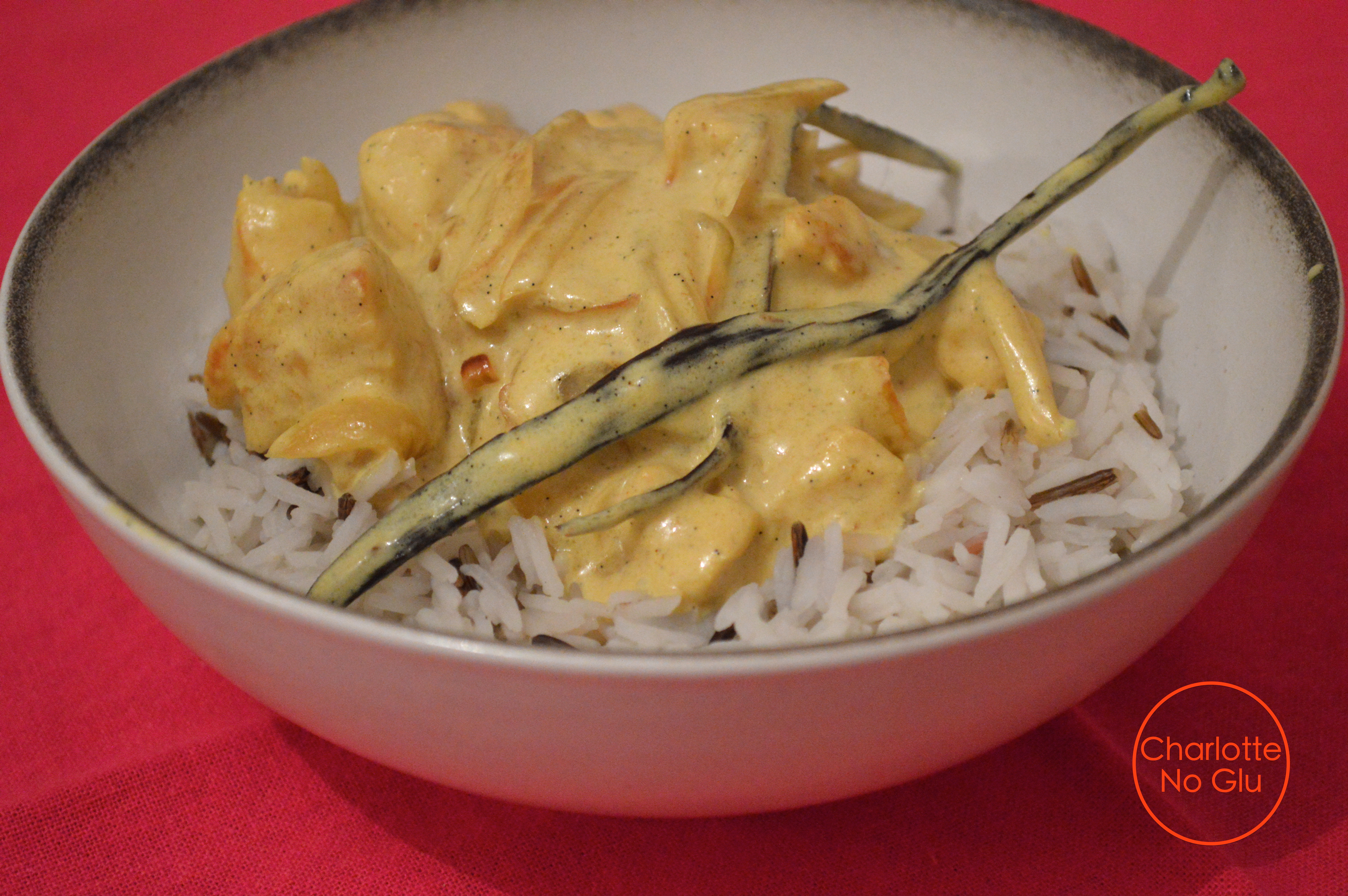 Poulet vanille coco coconut and vanilla chicken dis moi charlotte india - Recette laurent mariotte aujourd hui ...