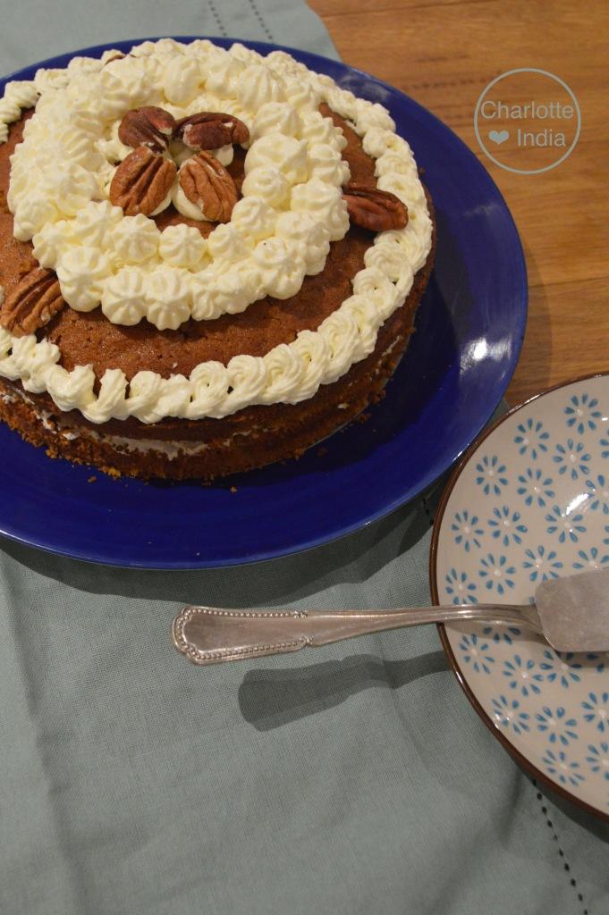 carrot cake (sans gluten, gluten free) – dis moi… charlotte ❤ india